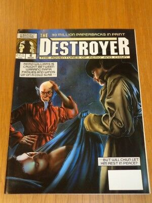 Destroyer #6 March 1990 Adventures Of Remo And Chiun Uk Us Magazine =