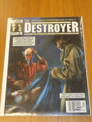 Destroyer #6 March 1990 Adventures Of Remo And Chiun Uk Us Magazine< =