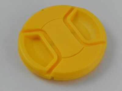 Lens Cap 52mm -yellow- for Canon EF 40 mm 2.8 STM / EF 50 mm 1.8 II