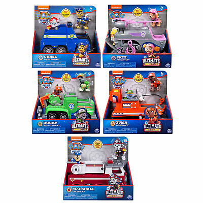 PAW Patrol Ultimate Rescue Vehicle and Figure *CHOOSE YOUR CHARACTER*