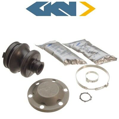 For Mercedes W126 R129 190D 300 Series Inner CV Boot Kit With Clamps/Grease GKN