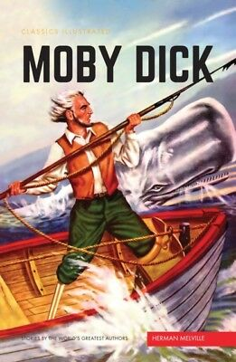 Moby Dick (Classics Illustrated) (Hardcover), Herman Melville, 97...