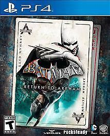 Batman: Return To Arkham  (Ps 4, 2016) (3069)                  Free Shipping Usa