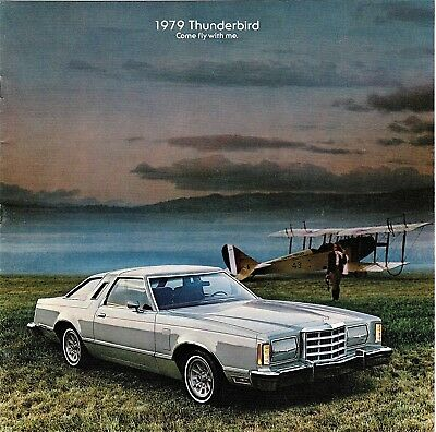 1979 Ford Thunderbird Sales Brochures (set of 2)