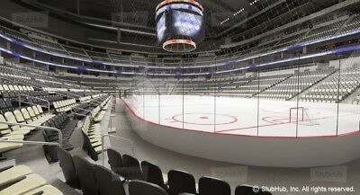 3 - Pittsburgh Penguins vs Florida Panthers Tickets - 01/08 - Sec 120 Row B