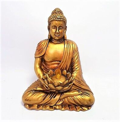 "Illuminated 6"" Buddha Figurine"