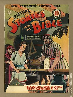 Picture Stories from the Bible (New Testament) #1 1944 FR/GD 1.5