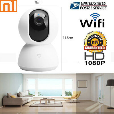 Xiaomi Mijia Smart IP Camera 1080P WiFi Pan Tilt Camera Night Vision Webcam