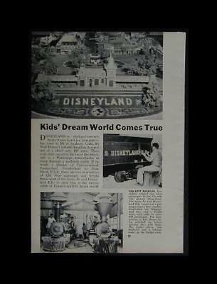Disneyland Railroad Grand Opening 1955 pictorial