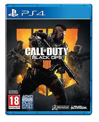 Call Of Duty Black Ops 4 PS4 Playstation 4 - Nuovo e Sigillato UK Pal