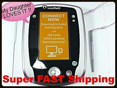 LeapPad 2 Kids Tablet Leap Pad 2 PINK Girls Toy Learning Tablet LeapFrog