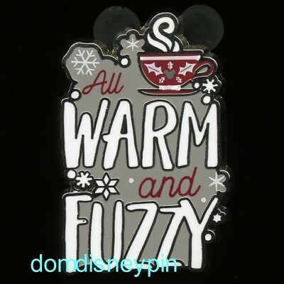 Disney Pin Parks Christmas (2018 Set) *Hot Chocolate* All Warm and Fuzzy!