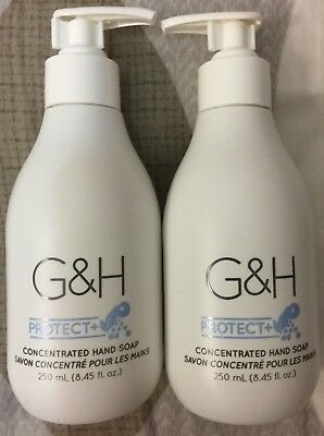 Lots of 2 G&H Protect+ Concentrated Hand Soap 250 Ml Each