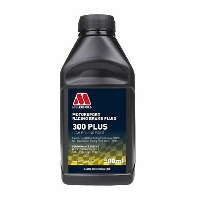 Millers Oils 300 Plus Racing / Competition / Motorsport Brake Fluid - 500ml