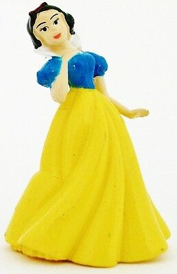 SNOW WHITE Disney PRINCESS 7 DWARFS PVC TOY Figure BIRTHDAY CAKE TOPPER FIGURINE