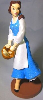 BELLE Disney TOWN DRESS Beauty And The Beast PVC TOY Playset Figure CAKE TOPPER!