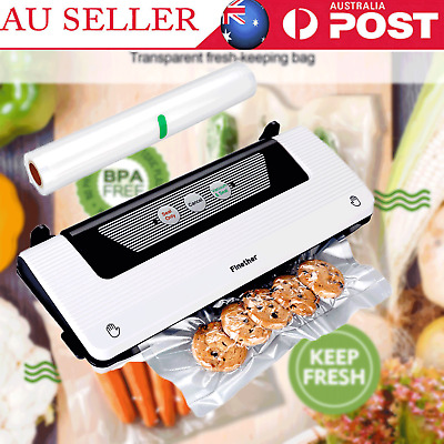 Finether Vacuum Sealer Machine Food Storage Packaging Saver Heat w/Free Bag Roll