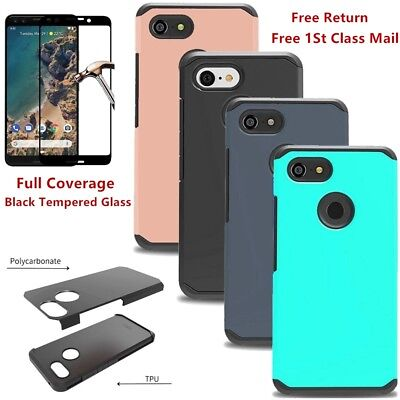 Heavy Duty Hybrid Shockproof Armor Tough Case Hard Cover For Google Pixel 3/XL 3