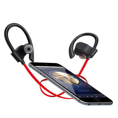 Wireless Bluetooth Sport Gym Earphone Headset For iPhone XS Max XR 8 Samsung S9