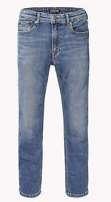 TOMMY HILFIGER BOYS JEANS RELAXED FIT NEU KB04360 Gr.176 /16 Y