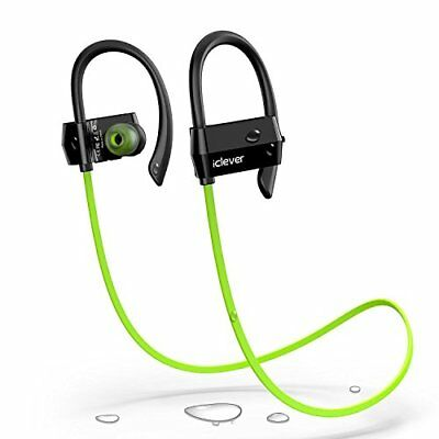 iClever Bluetooth Headphones Sweatproof, Wireless Headsets Bluetooth Earbuds for