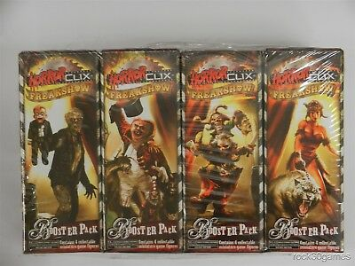 Freakshow Horrorclix - Brick Lot of 12 Booster Pack - 48 Figures Total