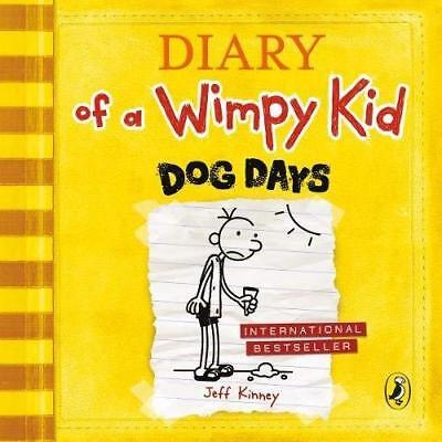 Jeff Kinney-Dog Days (Diary Of A Wimpy Kid Book 4) (UK IMPORT) BOOKH NEW