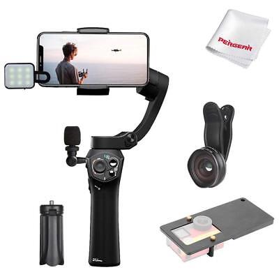 Snoppa Atom 3-Axis Pocket-Sized Handheld Gimbal Pink/Black for Smartphone+ Gift