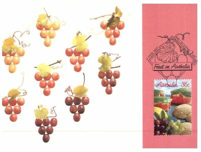 Australian maxicard - set of 3 - 1987 - Fruits