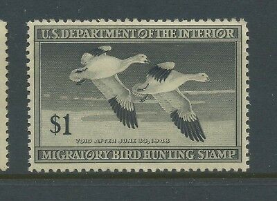 Scott #RW14 'SNOW GEESE' Federal Duck Mint Stamp NH (Stock #RW14-12)