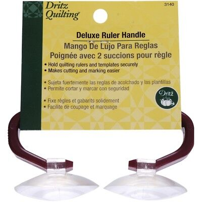 Dritz Quilting Deluxe Ruler Handle W/2 Suction Cups-