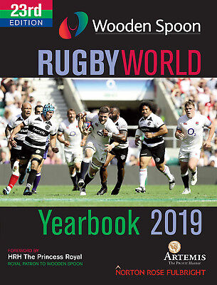 Wooden Spoon Rugby World Yearbook 2019 - 23rd Edition - Rugby Union book