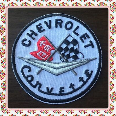 🇨🇦 Corvette Patch Embroidered Sew On/stick On Clothing/new 🇨🇦 #22