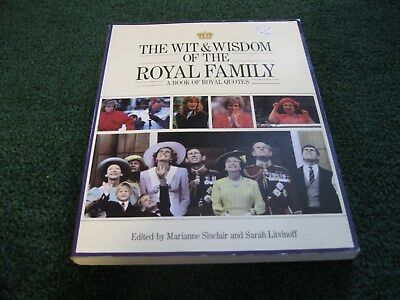 Collectible 1990 The Wit & Wisdom Of The Royal Family Softcover Book