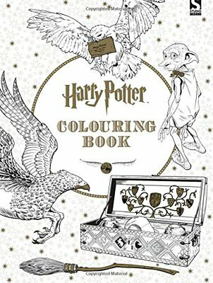 Harry Potter Colouring Book by Brothers, Warner, NEW Book, (Paperback) FREE & Fa