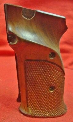 VINTAGE SMITH & Wesson Original S&W factory original Model 41 Burly Walnut  grips