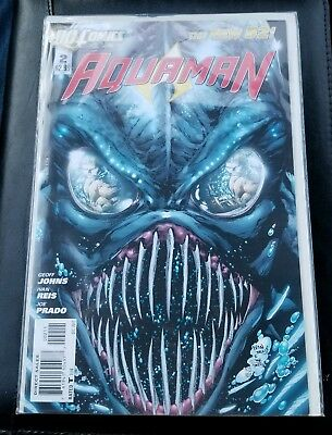 AQUAMAN #2 1ST APPEARANCE OF THE TRENCH KING & QUEEN 1st Dr Shinn- Aquaman movie
