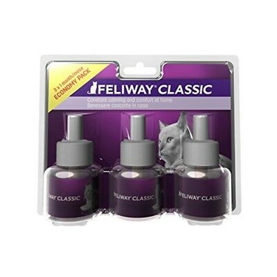 Feliway Classic 30 Day Refill, Pack Of 3 - Refill Stress Reduction Cats