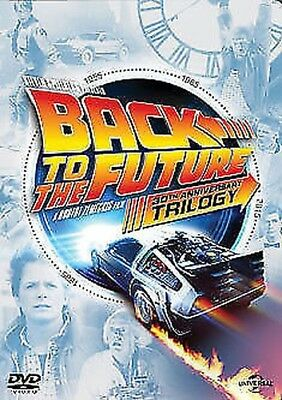 Back To The Future Trilogy - Part 1 / part 2 / part 3 DVD NEW dvd (8305339)