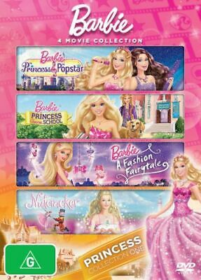 NEW Barbie Princess Collection DVD Free Shipping