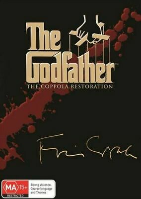 NEW The Godfather Trilogy : The Coppola Restoration DVD Free Shipping