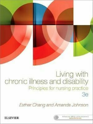 NEW Living with Chronic Illness and Disability By Chang Paperback Free Shipping