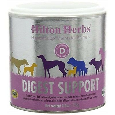 Hilton Herbs Canine Digest Support Supplement For Dogs, 4.4 Oz Tub - Gastri