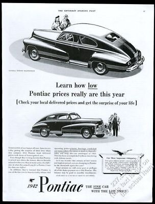 1942 pontiac coupe vintage car dealer advertising postcard storm 1935 Pontiac Coupe 1942 pontiac coupe 2 car illustrated vintage print ad