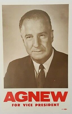 Spiro Agnew for Vice President Campaign Poster
