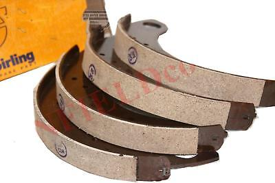 Brake Shoe Set of 4 With Brake Linings Genuine TVS For Ford Tractor CAD