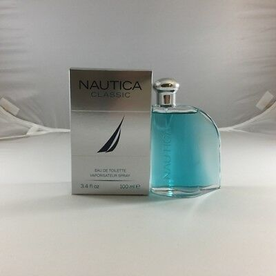 Nautica Classic Men's Cologne - 3.3 / 3.4 oz / 100 ml EDT Spray New In Box