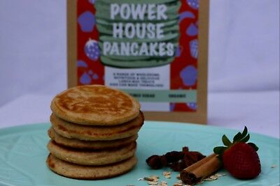 Powerhouse Pancakes - Healthy Dry Pancake Batter Mix For Kids To Make Themselves