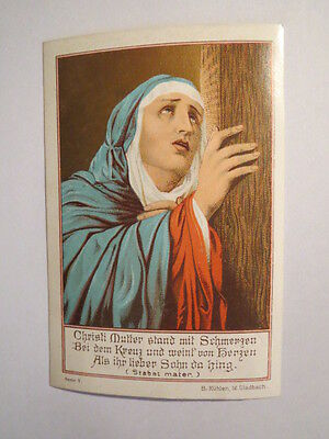 Christi Mutter am Kreuz - Maria / Andachtsbild Heiligenbild