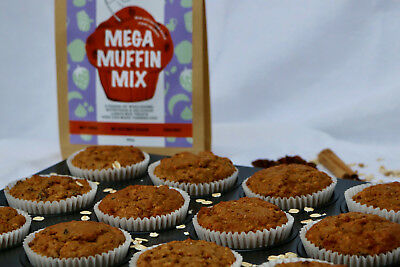 Mega Muffin Mix - Healthy Dry Muffin Bake Mix For Kids To Make Themselves